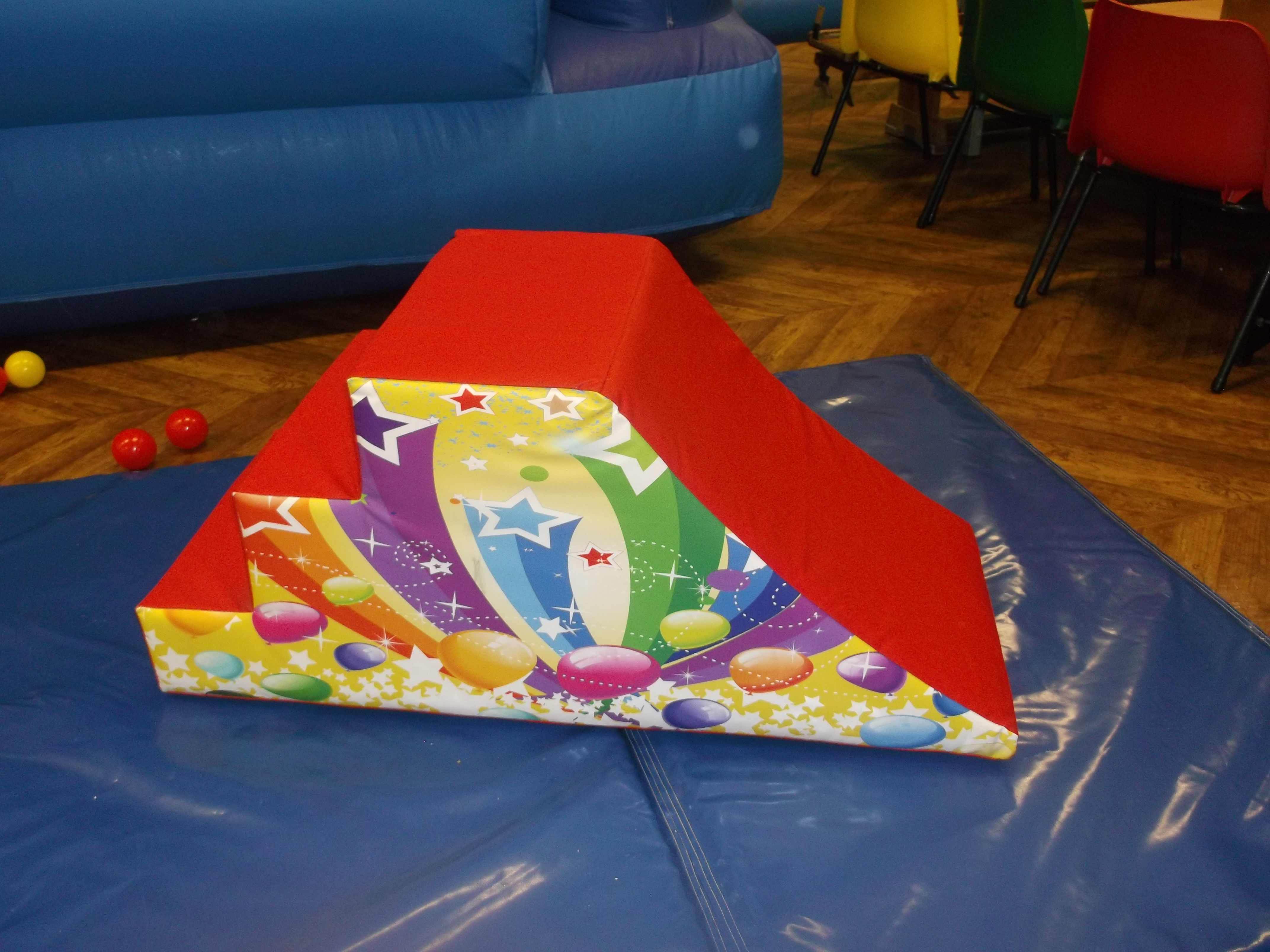 soft play step slide